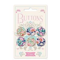 400021 Tilda LazyDays Buttons 0,8 in (20mm) April 2019