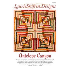 Quiltpatroon Antelope Canyon